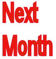 next month: what to do updated every month